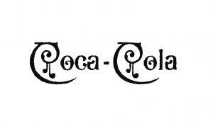 Vintage-1890-coca-cola-black-logo-design