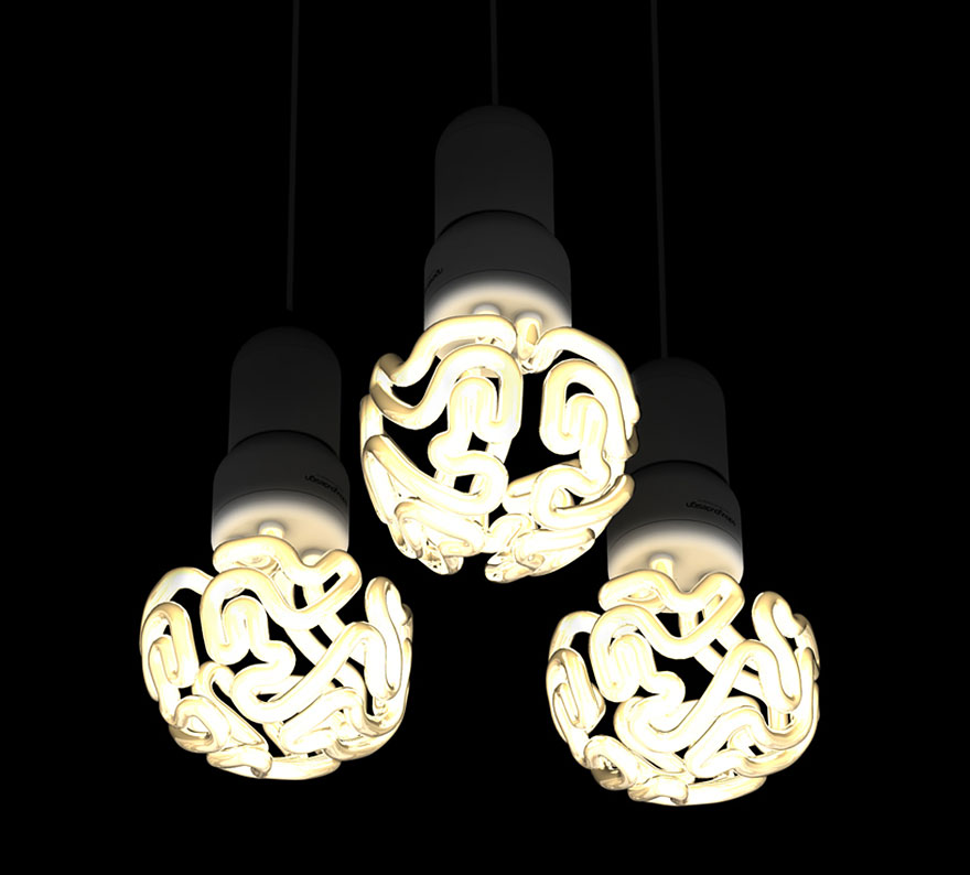 Unique Brain Lamp Ideas