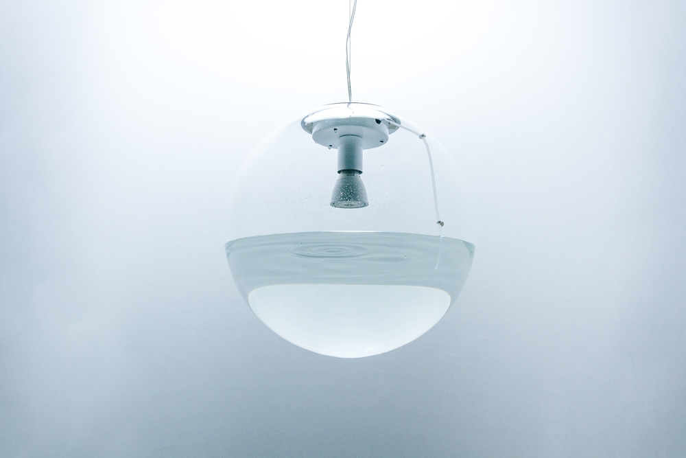 globe rain lamp ideas