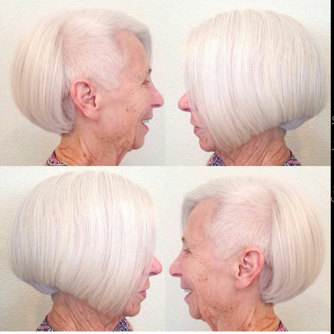 Hairstyle for Old Woman