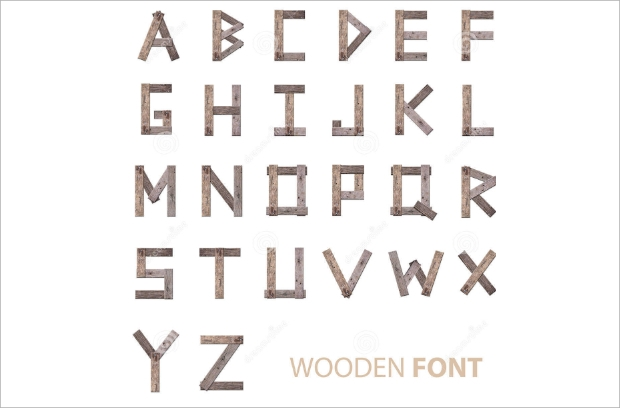 how to get lettering to stick to wood