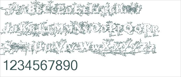 free wood font1