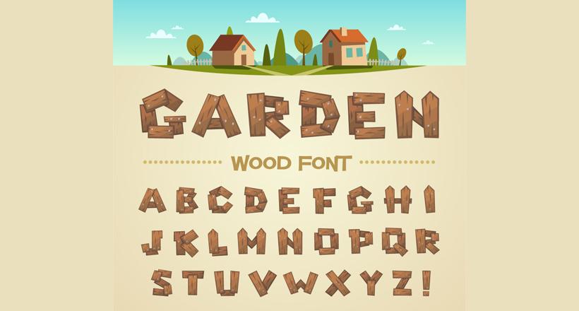 20 wood fonts ttf otf download design trends premium psd img publicscrutiny Gallery