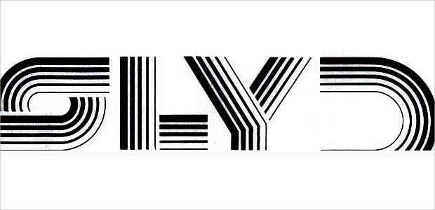 multiline futuristic font