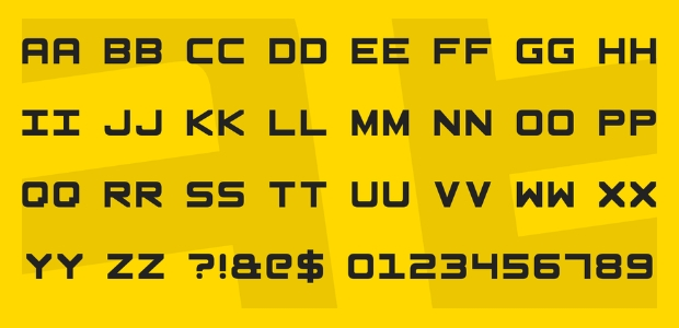 15 Blocky Square Fonts Ttf Otf Download Design