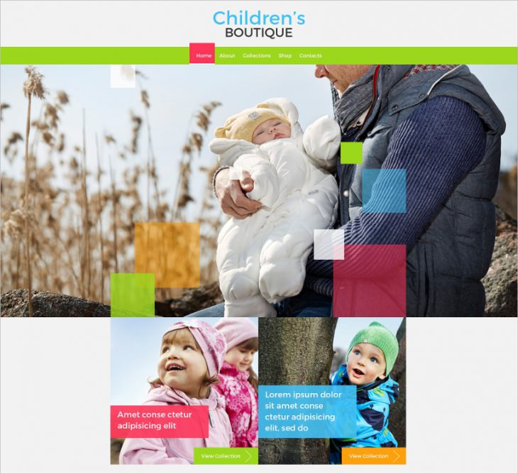 Baby Store Template