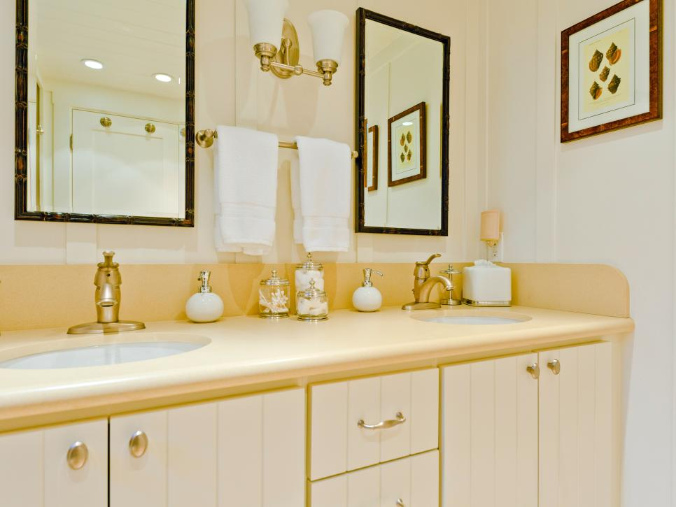 coastal guest bathroom design