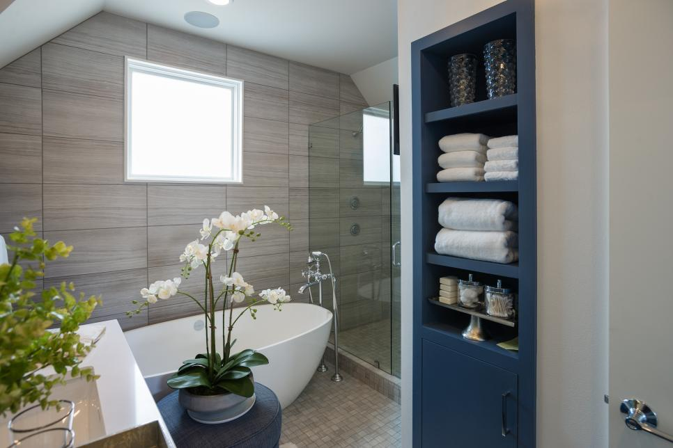 Bathroom Storage with Smart Technology