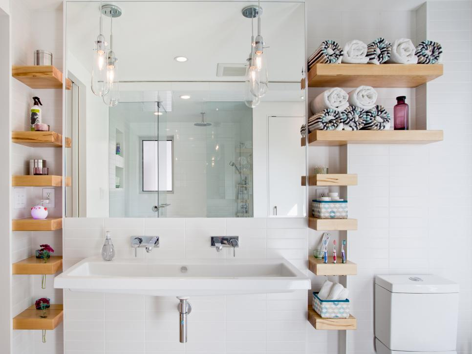 Bathroom With Family Friendly Storage