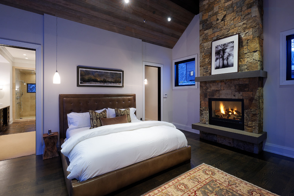 21+ Bedroom Fireplace Designs, Decorating Ideas | Design Trends ...