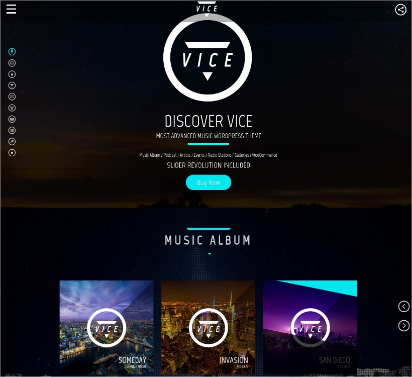 dj radio wordpress theme