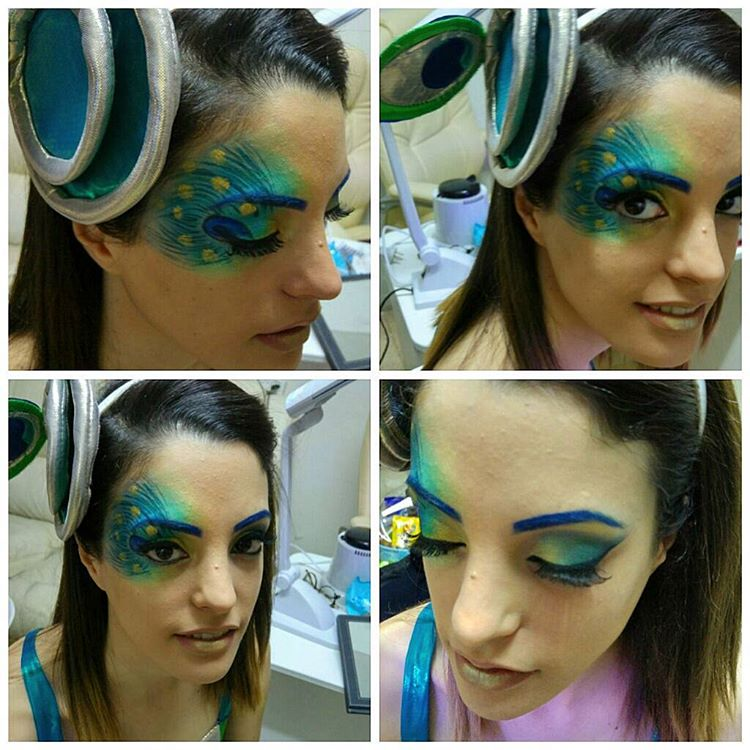 19 Peacock Makeup Designs Trends Ideas Design Trends