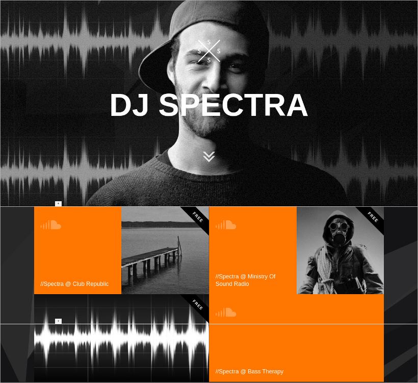 Responsive DJ & Music Theme