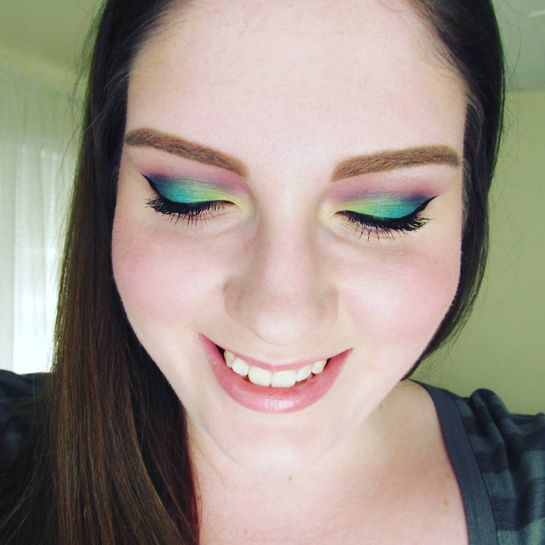 19+ Peacock Makeup Designs, Trends, Ideas
