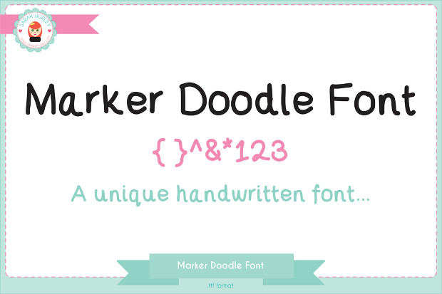 Awesome Doodle Sketch Font