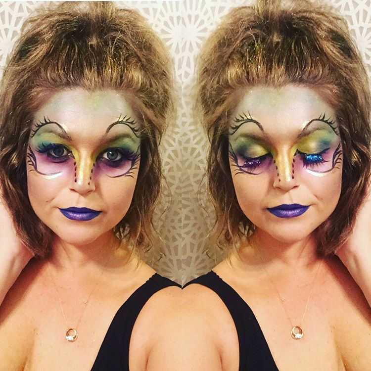 Animal Theme Day Makeup Art