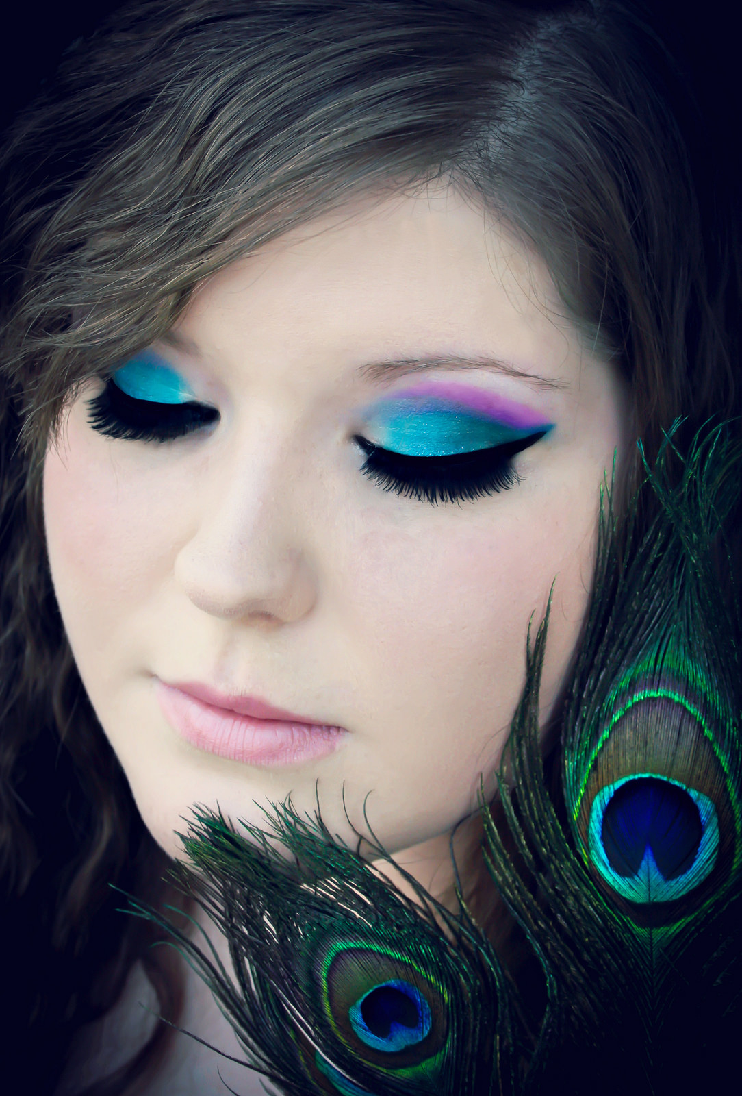 Video Makeup Tutorials: 19+ Peacock Makeup Designs, Trends, Ideas