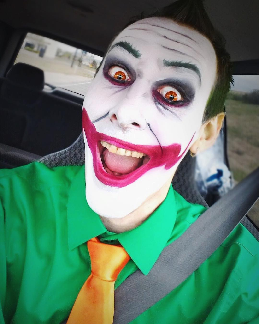 men joker makeup design
