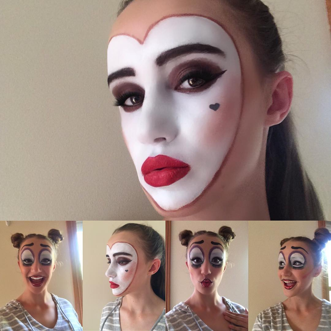 Creative Face Paint Makeup For Girls