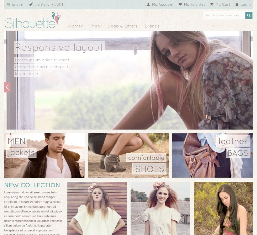 Fashion Magento Template
