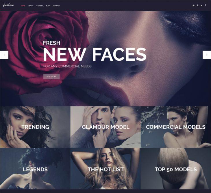 Fashion Spot Website Template