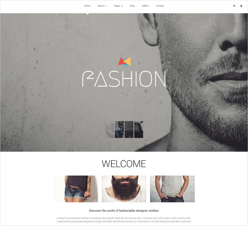 Joomla Fashion Blog Template