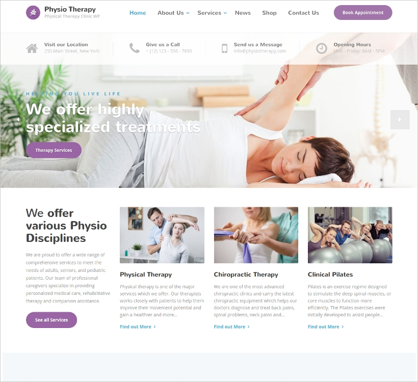 Medical Clinic Template
