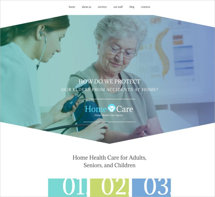 Nursing Home Website Template