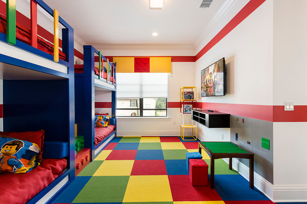 Colorful Carpet Idea for Children Bedroom