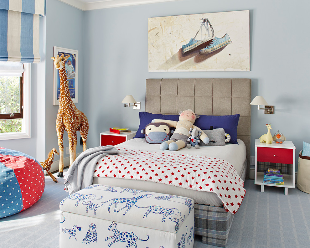 classic interior design for little boys bedroom
