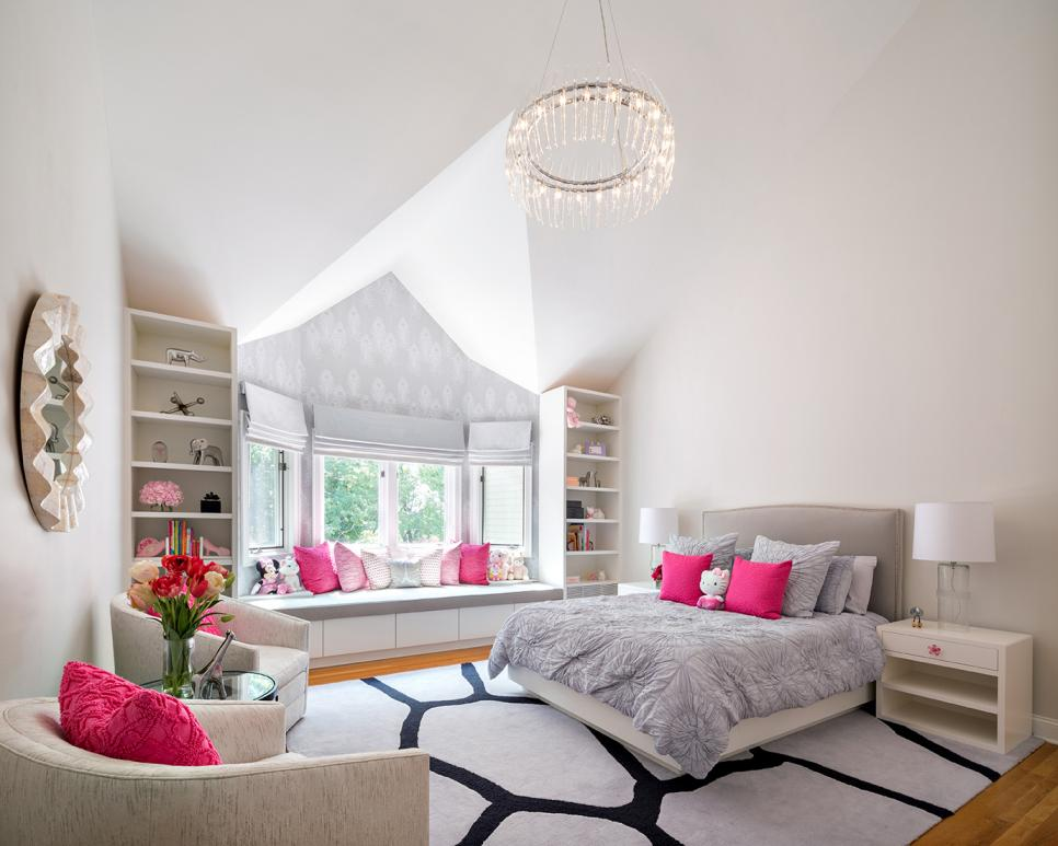 Little Girl's Bedroom Interior Design