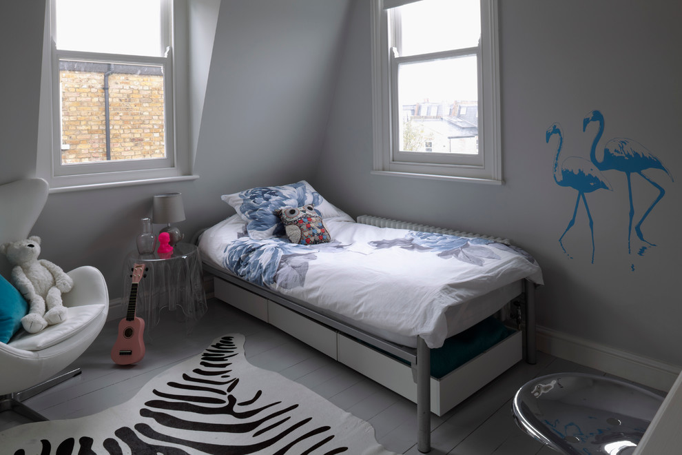 eclectic children bedroom design