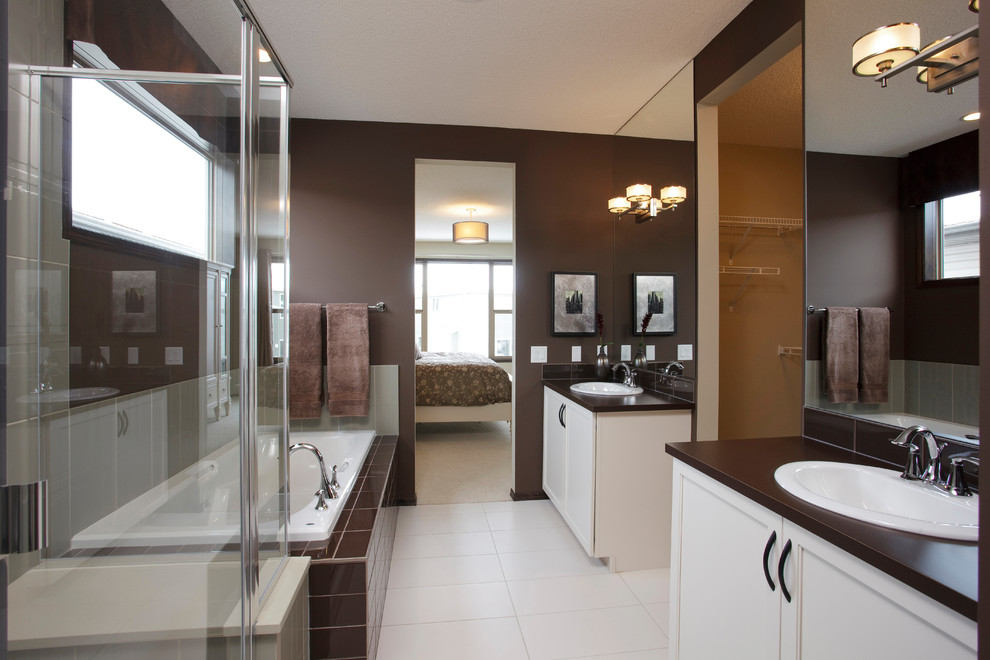 Specious Bathroom with Lighting