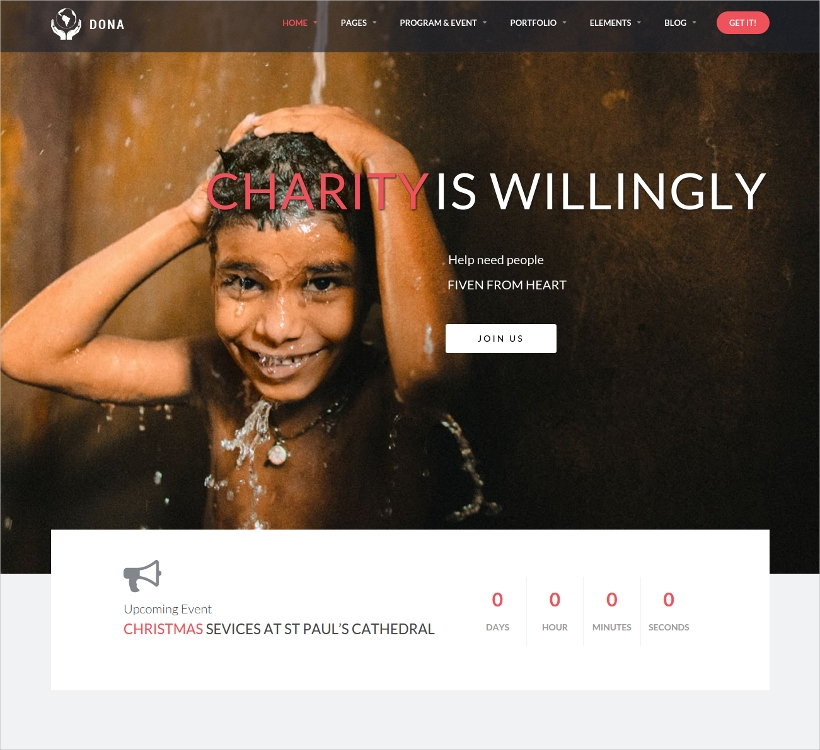 Multi-Purpose Noprofit WordPress Template