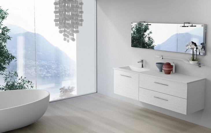 precious modern vanity bathroom