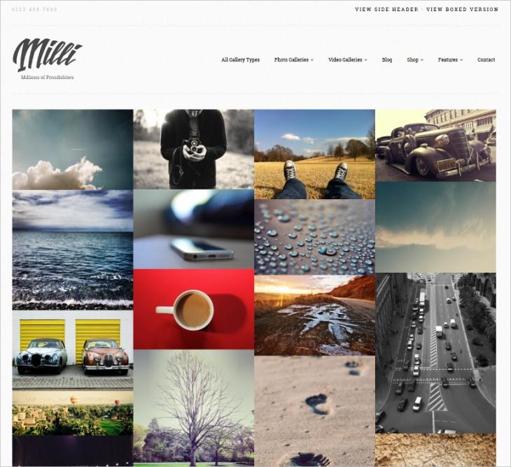 Photo Gallery WordPress Theme
