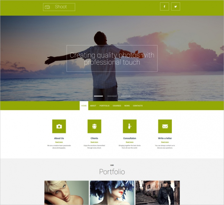 Responsive Photo Gallery Template