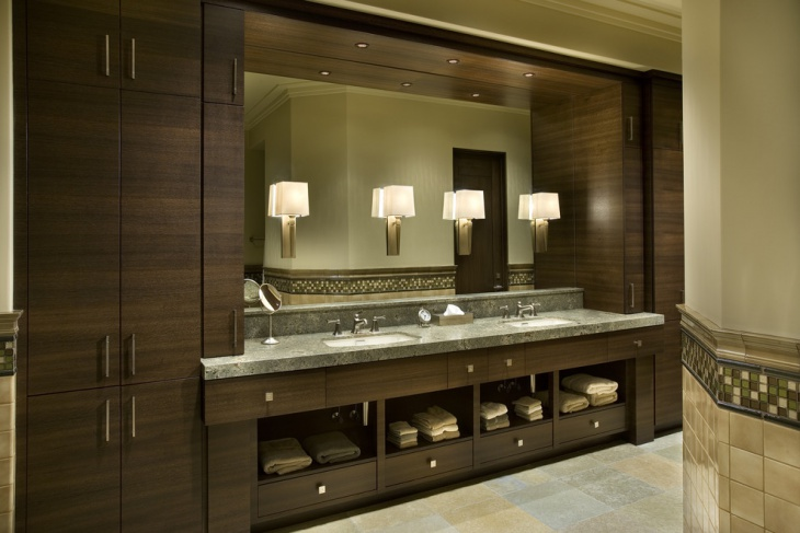 21 modern bathroom designs decorating ideas design for Modern bathroom cabinets ideas