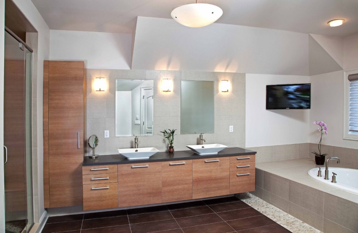 21+ Modern Bathroom Designs, Decorating Ideas | Design ...