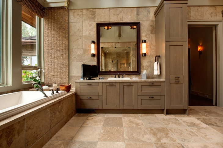 Master And Rustic Bathroom Cabinets