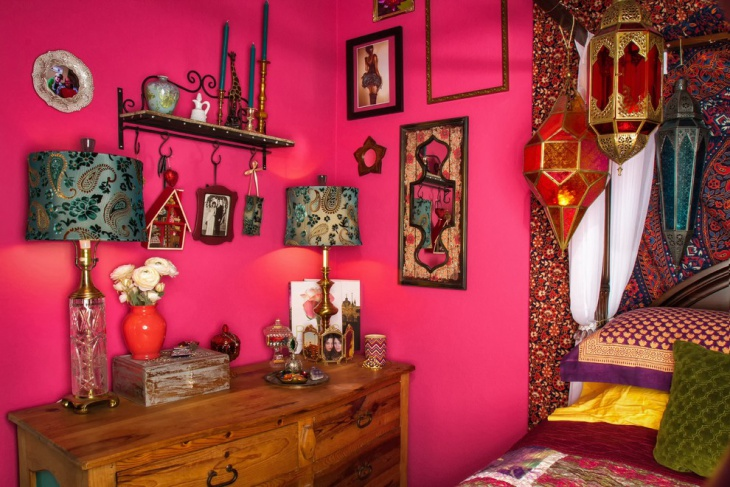 20 Bohemian Bedroom Designs Decorating Ideas Design Trends