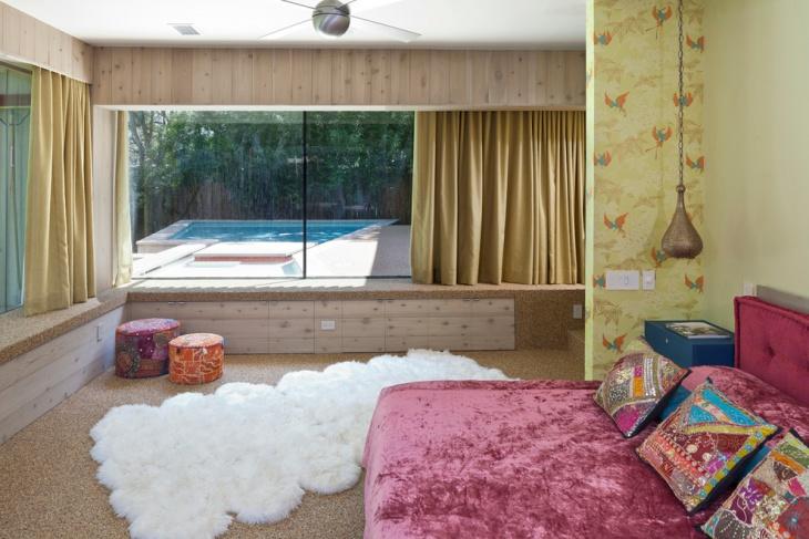 stylish bohemian bedroom idea