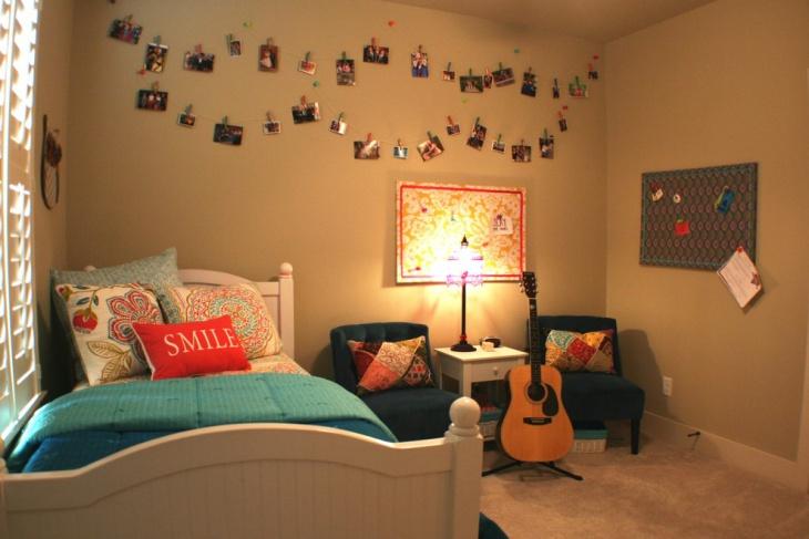 Bohemian Girl's Room Design
