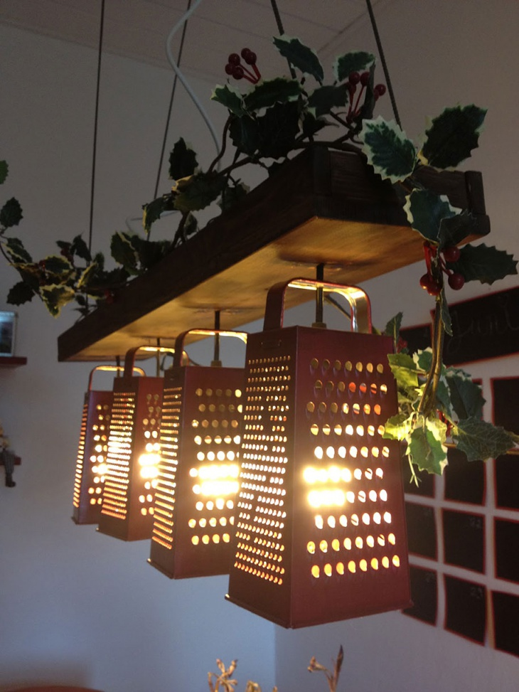 Interior Decor DIY Wooden Lamps