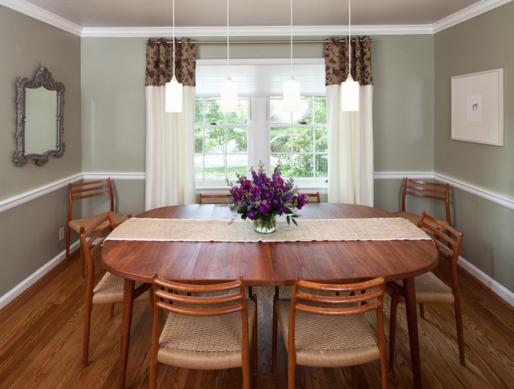 Organic Themed Dining Room Design
