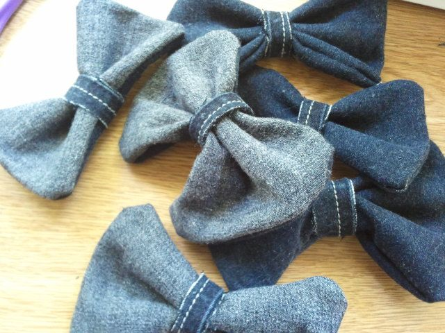 denim hairbow 2