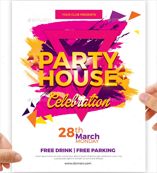 Party Flyer Designs Psd Download  Design Trends  Premium Psd