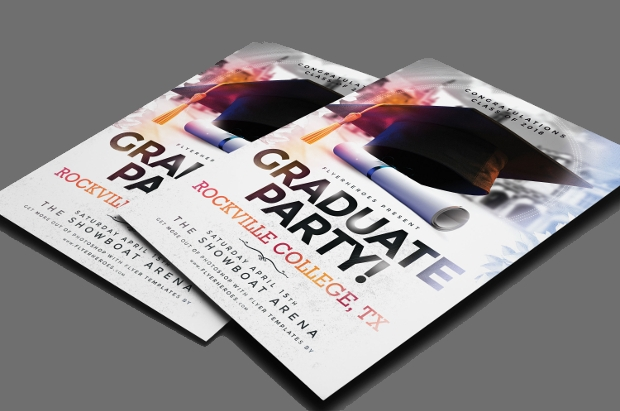 Graduate Party Flyer