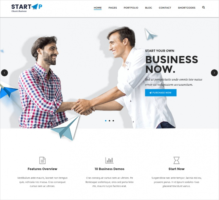 basic business html5 css3 template