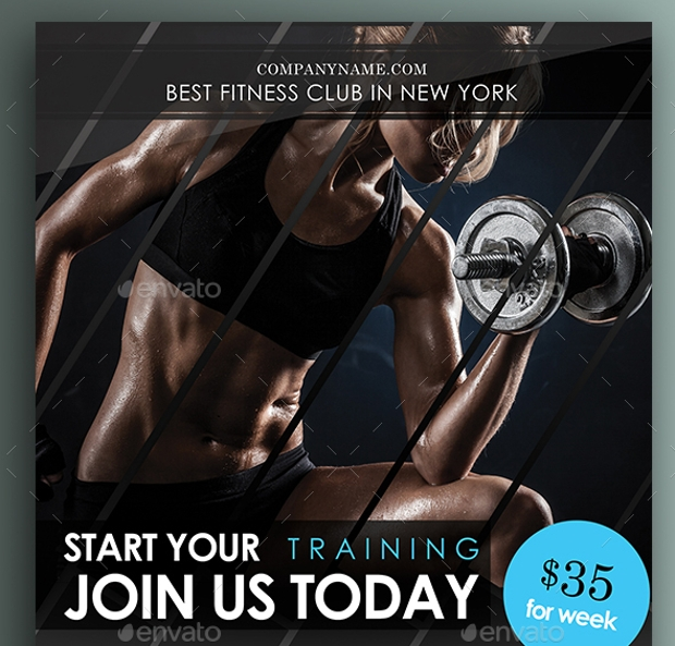 Best Fitness Gym Flyer